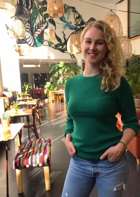 Karibu Café, Karibu Café, een oase van groen in de verstening van de stad, Makelaar in Utrecht